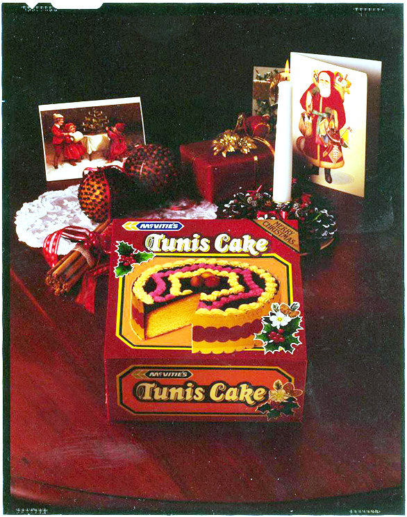 The original McVities Tunis Cake (image courtesy of McVities)