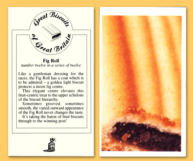 Card number twelve - The Fig Roll