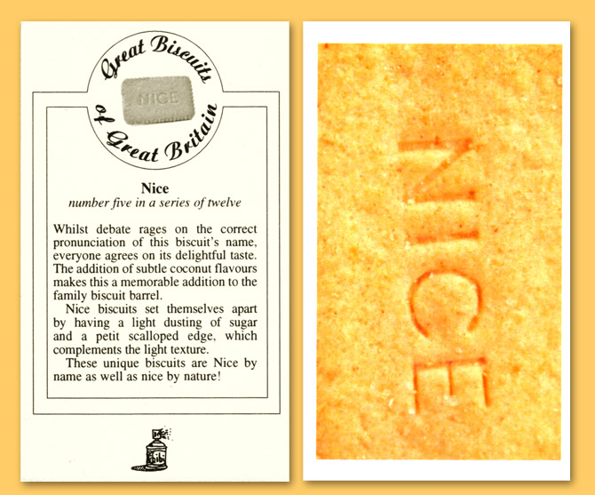 Card number five - The Nice biscuit