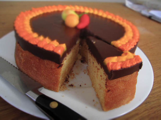 The Epicureans Answer Tunis Cake